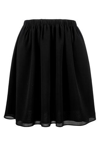 back_Cross The Oceans Black Skirt