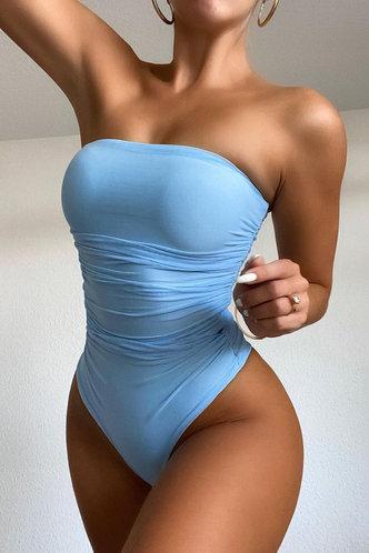 front_Margie Enid Blue Bodysuit