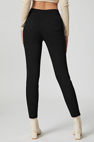 back_Sincerely Yours Black Ankle Jeggings
