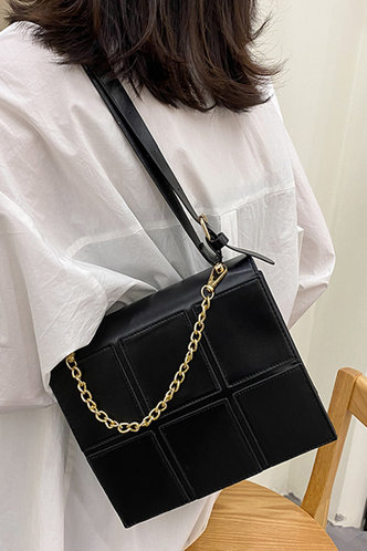 front_Holly Enid Black Crossbody Bag