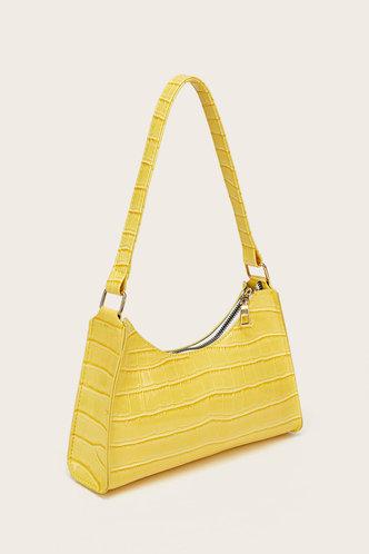 back_Claire Eden Yellow Shoulder Bag