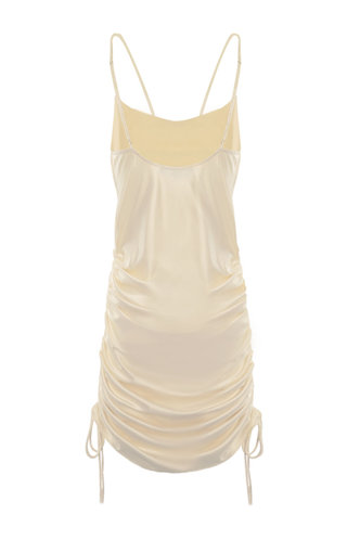 back_Orianna Light Champagne Mini Dress