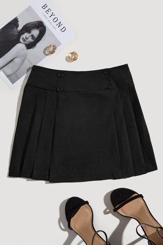 back_Leilani Elsa Black Skirt