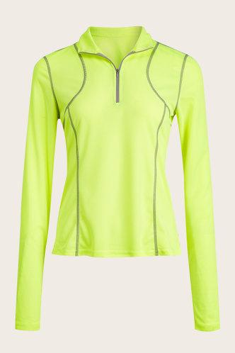 front_Lela Neon Activewear Top