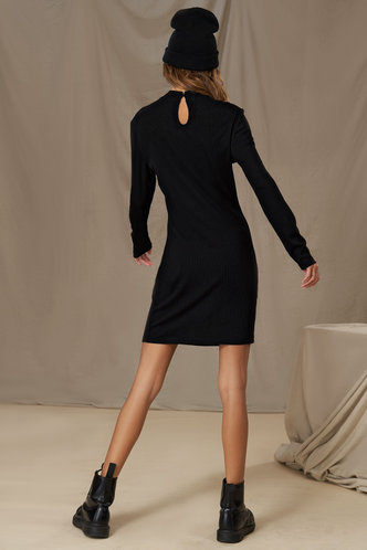back_Party Central Black Pencil Dress