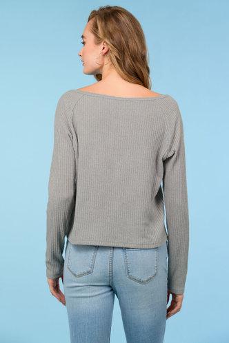 back_Minimalist {color} Sweater Top