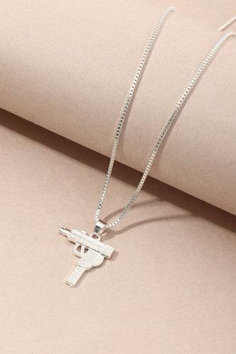 back_Natividad Elizabeth Silver Necklace