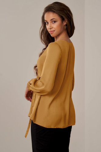 back_The Arrival {Color} Long Sleeve Top