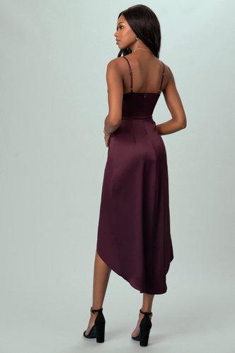 back_After Party Cabernet Midi Dress