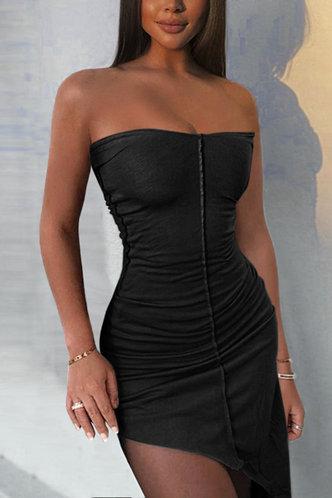 front_Dorsey Elva Black Dress
