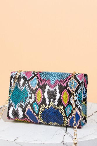 back_Evangeline Grinhilt Snakeskin Print Crossbody Bag