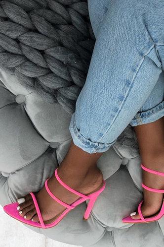 back_Celestine Emily Rose Pink Heeled Sandals