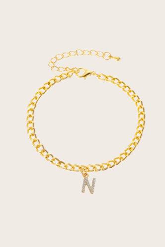 back_Emily Montril Gold Anklet Chain
