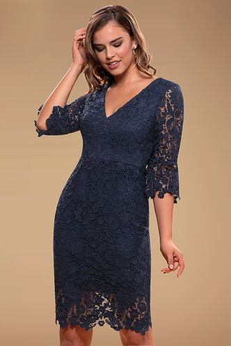 front_Own The Night {Color} Lace Midi Dress