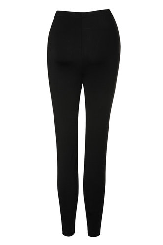 back_Chances Black High Rise Leggings