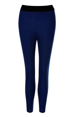 front_Sweat Style Royal Blue Leggings