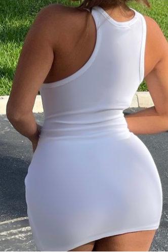 back_Amelia Elva White Bodycon Dress