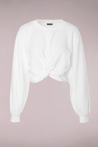 front_New Attitude White Pullover