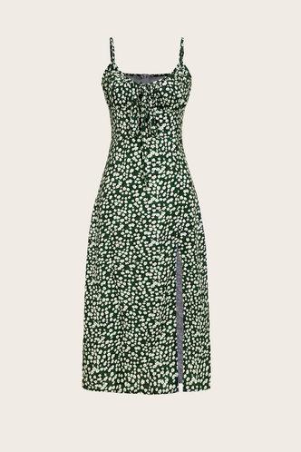 back_Cinderella Evangeline Floral Print Split Hem Cami Dress
