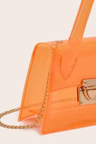 back_Gladys Panum Orange Satchel Bag