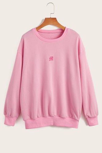 back_Alicia  Pink  Sweatshirt