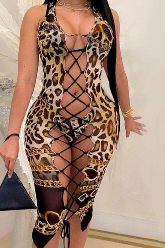 front_Rosemary Eleanore Brown Leopard Print Bikini