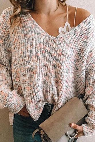 front_Karan Evangeline Multicolor Pullover