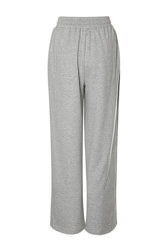 back_Baggy Babe Light Grey Drawstring Pants