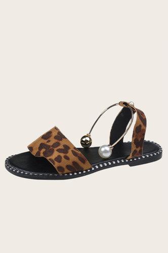 back_Cora Haska Leopard Print Slingback Sandals