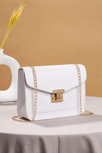 back_Tessa Erica White Crossbody Bag