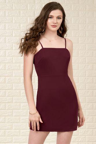 front_Moon River {Color} Mini Dress