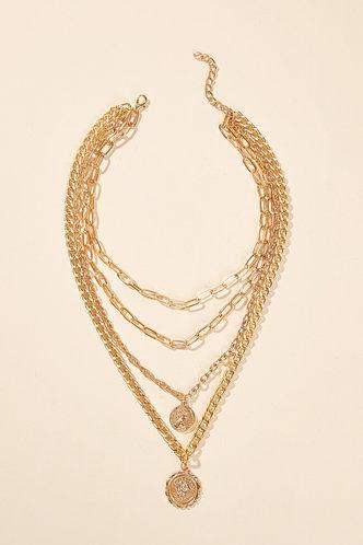 back_Mignon Eden Gold Layered Necklace