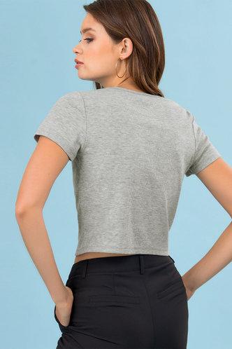 back_Sweet Pea Grey Top