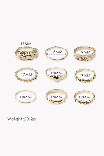 back_Jennie Elizabeth Gold Ring 9pcs