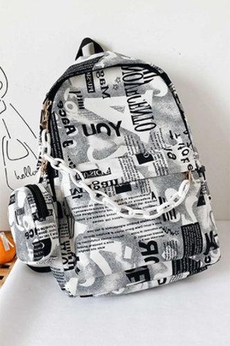 back_Katie Fiskan Multi Print Bagpack