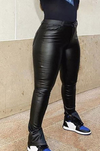 back_Giselle Esther Black Plus Pants