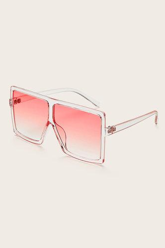 back_Summer Elizabeth Pink Gradient Square Frame Sunglasses