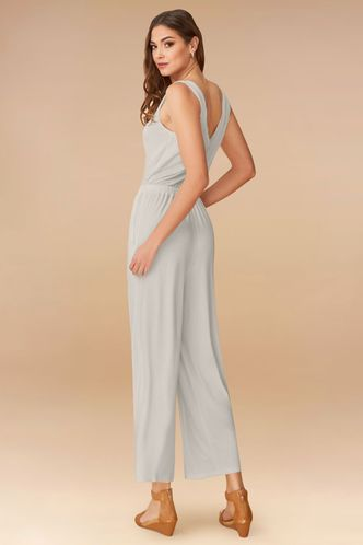 back_Never Alone Grey Jumpsuit