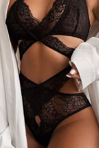 back_Eloise Elma Black Sexy Lingerie