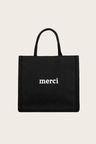front_Cordelia Elvira Black Tote Bag