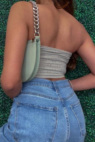 back_Ethel Kanjas Grey Tube Crop Top