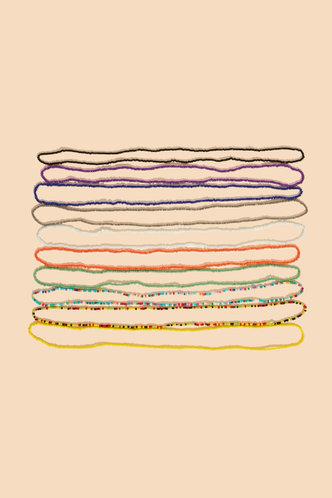 back_Georgina Emily Multicolor Beaded Waist Chain 10pcs