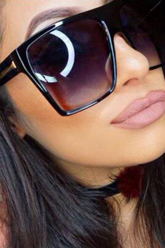 front_Eunice Garan Grey Acrylic Frame Sunglasses