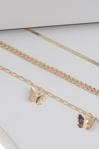 back_Casual Butterfly Gold Body Jewelry