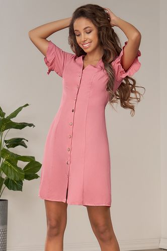 front_Tomorrow Flamingo Mini Dress