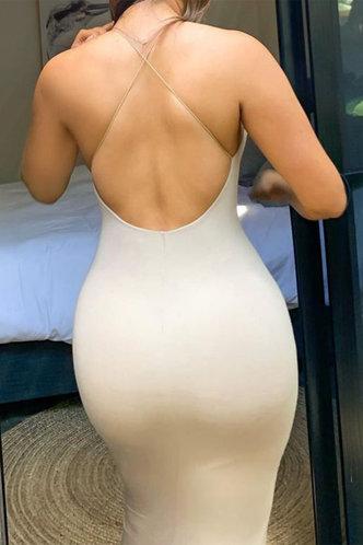 back_Lena Elvira Nude Cami Bodycon Dress