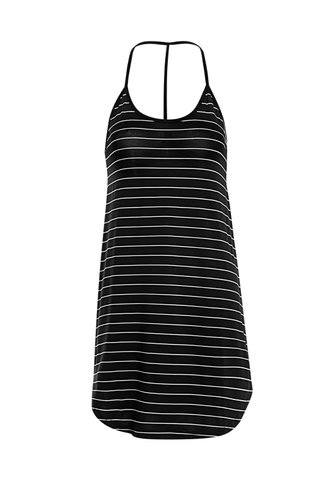 front_After School Special Black Cami Dress