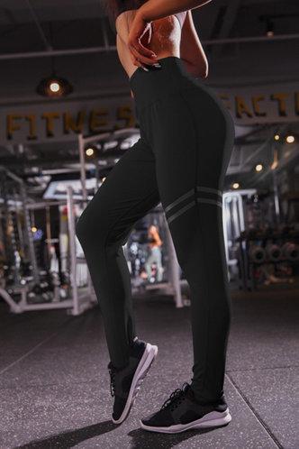front_Paige Edith Black Leggings