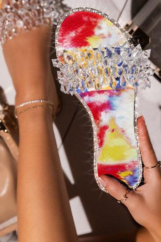 front_Freda Makavel Tie Dye Slide Sandals