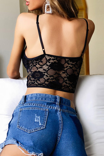 back_Dale Kuvan Black Sexy Lingerie